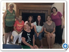 Quilting Collective gathering, missing Linda Lupton and Natalie Crabtree