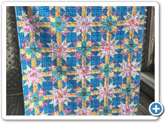 Pieced by Natalie Crabtree and quilted by Quilty Holly