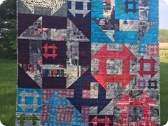 Pieced by Natalie Crabtree and quilted by Quilting Matilda
