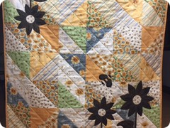 Free motion quilted by Quilting Matilda