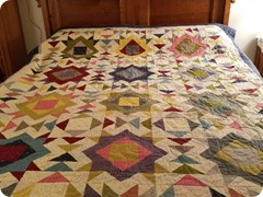 Pieced by Shannon Arnstein and quilted by Quilting Matilda