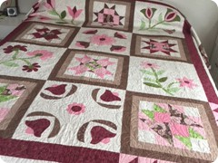 Pieced and quilted by Quilting Matilda